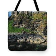 Dunluce Castle, Co Antrim, Ireland Tote Bag