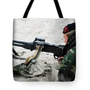 Dutch Royal Marines Taking Part Tote Bag