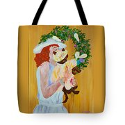 Easter Lilly Tote Bag