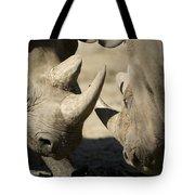 Eastern Black Rhinoceros Tote Bag