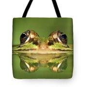 Edible Frog Rana Esculenta Tote Bag