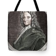 Edmond Halley, English Polymath Tote Bag
