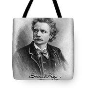 Edvard Grieg (1843-1907) Tote Bag