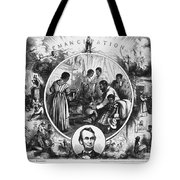 Effects Of Emancipation Proclamation Tote Bag