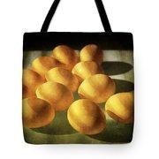 Eggs Lit Through Venetian Blinds Tote Bag