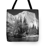 El Capitan And Merced River Tote Bag