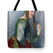 Eleanor Of Aquitaine Tote Bag