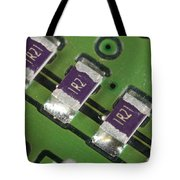 Electronics Board With Lead Solder Tote Bag