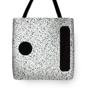 Electrostatic Field Lines No Charge Tote Bag