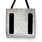 Electrostatic Field Lines Tote Bag