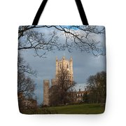 Ely Cathedral In City Of Ely Tote Bag