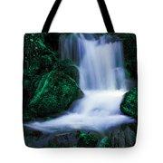 Emerald Falls Tote Bag