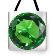 Emerald Isolated Tote Bag