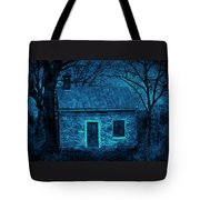 Enchanted Moonlight Cottage Tote Bag