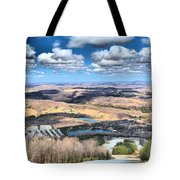 Endless Mountains Tote Bag