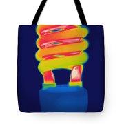 Energy Efficient Fluorescent Light Tote Bag
