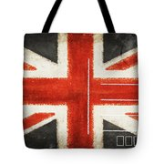England Flag Postcard Tote Bag