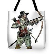 English Archer, 1634 Tote Bag