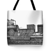 English Locomotive, 1825 Tote Bag