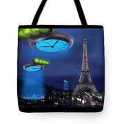 European Time Traveler Tote Bag