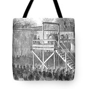Execution Of Henry Wirz Tote Bag