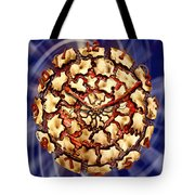 Exploding Clock Tote Bag
