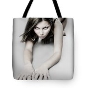 Expressive Sexy Cat Woman Tote Bag