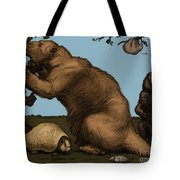 Extinct Fauna Tote Bag