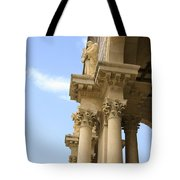 facade of Church of all Nations Jerusalem Tote Bag