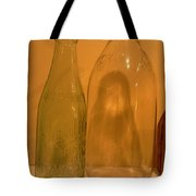 Face In The Bottle Tote Bag