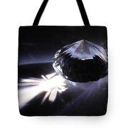 Faceted Quartz Gem Tote Bag