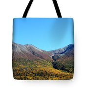 Fall Mountains Tote Bag