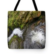 Fall Of Water Tote Bag