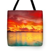 Fantasy Sunset Tote Bag