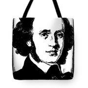 Felix Mendelssohn Tote Bag by Granger