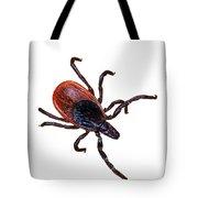 Female Blacklegged Tick Tote Bag