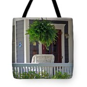 Fern On Front Porch Tote Bag
