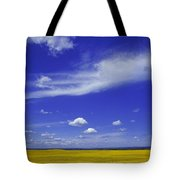Field Of Canola Tote Bag