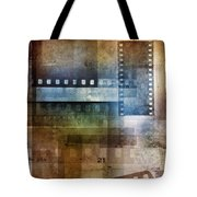 Film Negatives Tote Bag