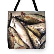 Fine Catch Of Trout Tote Bag