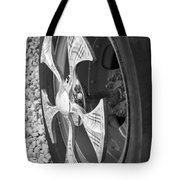 Fire Truck Spinner Tote Bag