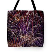 Fireworks Tote Bag by Garry Gay