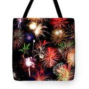Fireworks Medley Tote Bag