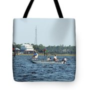 Fishing The Flats Tote Bag