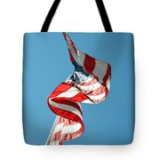 Flagged Tote Bag