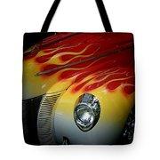 Flaming Beauty Tote Bag