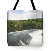 Flatrock Dam Tote Bag