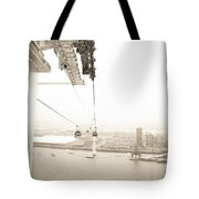 Flight Over The Thames Tote Bag