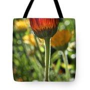 Floral Torch Tote Bag