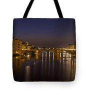 Florence - Ponte San Trinita Tote Bag by Joana Kruse